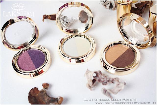 eyeshadow ombretti recensione lakshmi makeup vegan ecobio