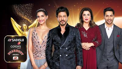 Sansui Colors Stardust Awards 2017 Hindi WEBRip 480p 650mb