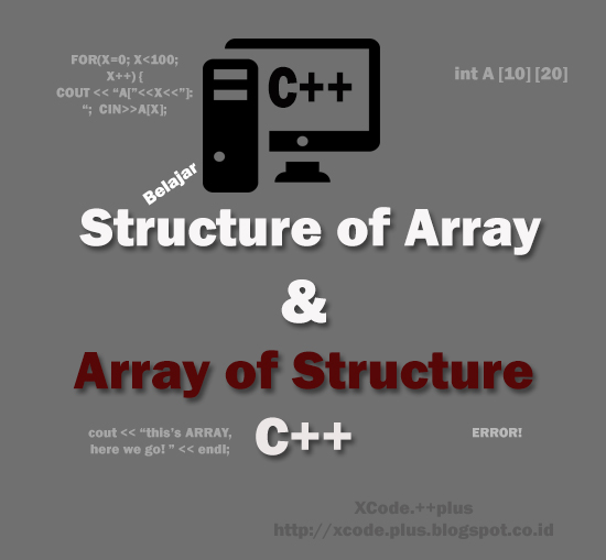 Gambar Struktur dan Array By Xcodeplus