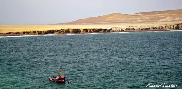 Reserva Nacional de Paracas, Playa Roja
