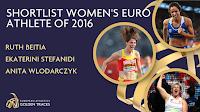 Η Κατερίνα Στεφανίδη ανάμεσα στις τρεις υποψήφιες για τον τίτλο της κορυφαίας αθλήτριας στην Ευρώπη
