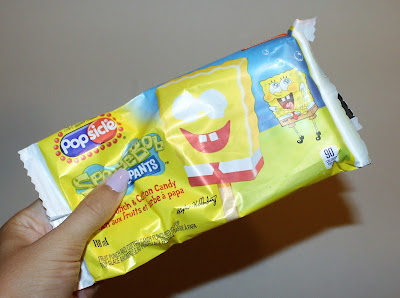 Spongebob Popsicle