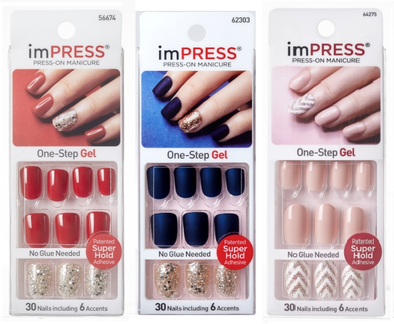 Impress Press On One Step Gel Manicure Now New And Improved