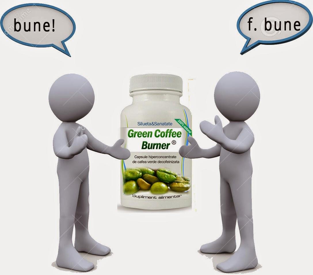 Pastile de slabit cu cafea verde Greencoffeeplus