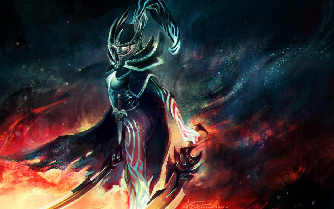 Dota 2 Wallpaper Arcana Wallpaper Collection