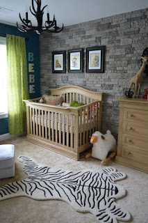 linda habitación de bebé