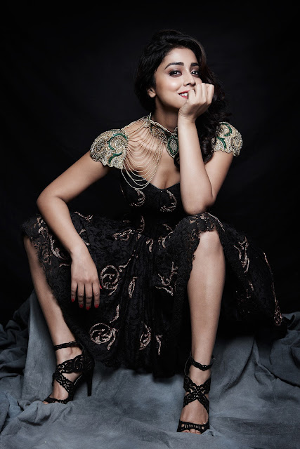 Shriya Saran in Her Latest Annaika Lookbook Photoshoot