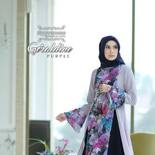 Ayyanameena Geraldine Purple