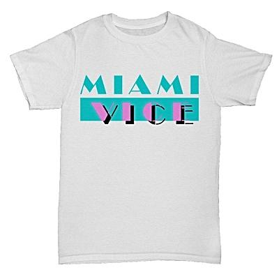 Miami Vice Logo T-shirt for Men