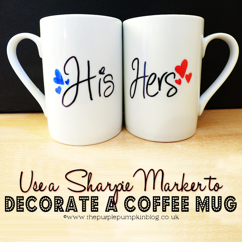 Use a Sharpie Marker to Decorate a Coffee Mug