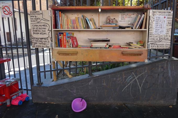 Kokemuksia Roomasta lasten kanssa - Trasteveren leikkipaikat