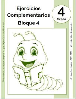 4to grado primaria - material educativo - bloque 4 - ° grado - material didáctico