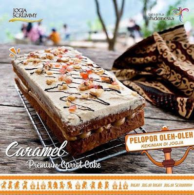 Review Premium Carrot Cake Jogja Scrummy Varian Rasa dan Harga Terbaru
