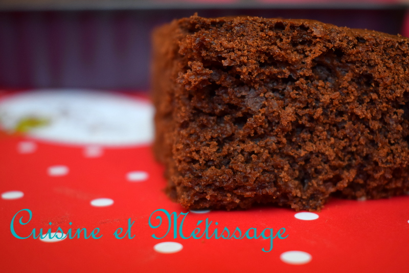 brownie chocolat marron