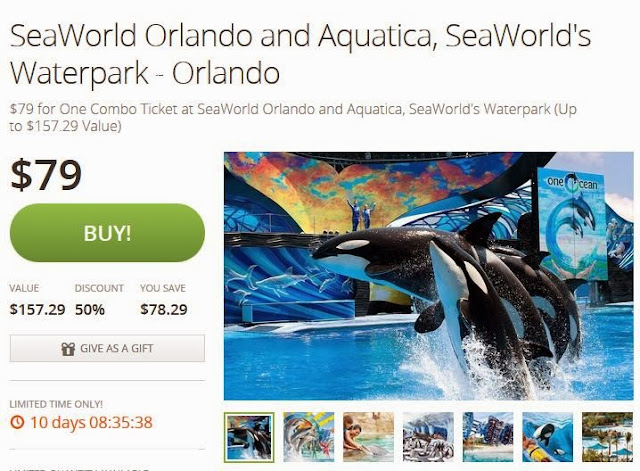 Seaworld san diego deals coupons