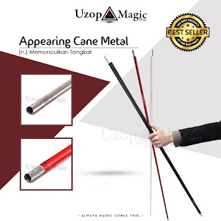 Jual alat sulap appearing cane