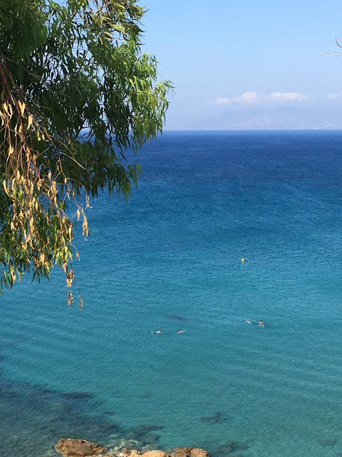 View from Aphrodite's Bath, Latchi, Cyprus
