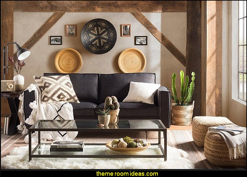 southwestern american indian theme bedrooms mexican rustic style decor wolf theme bedrooms - American Living Room Design