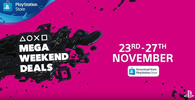 بالفيديو التشويق لإنطلاق عروض التخفيضات Mega Weekend Deals لمتجر PlayStation Store