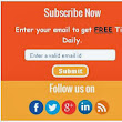 How to add social subscription widget-v6