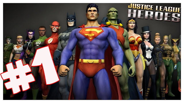 Free Download PPSSPP Games Justice League Heroes