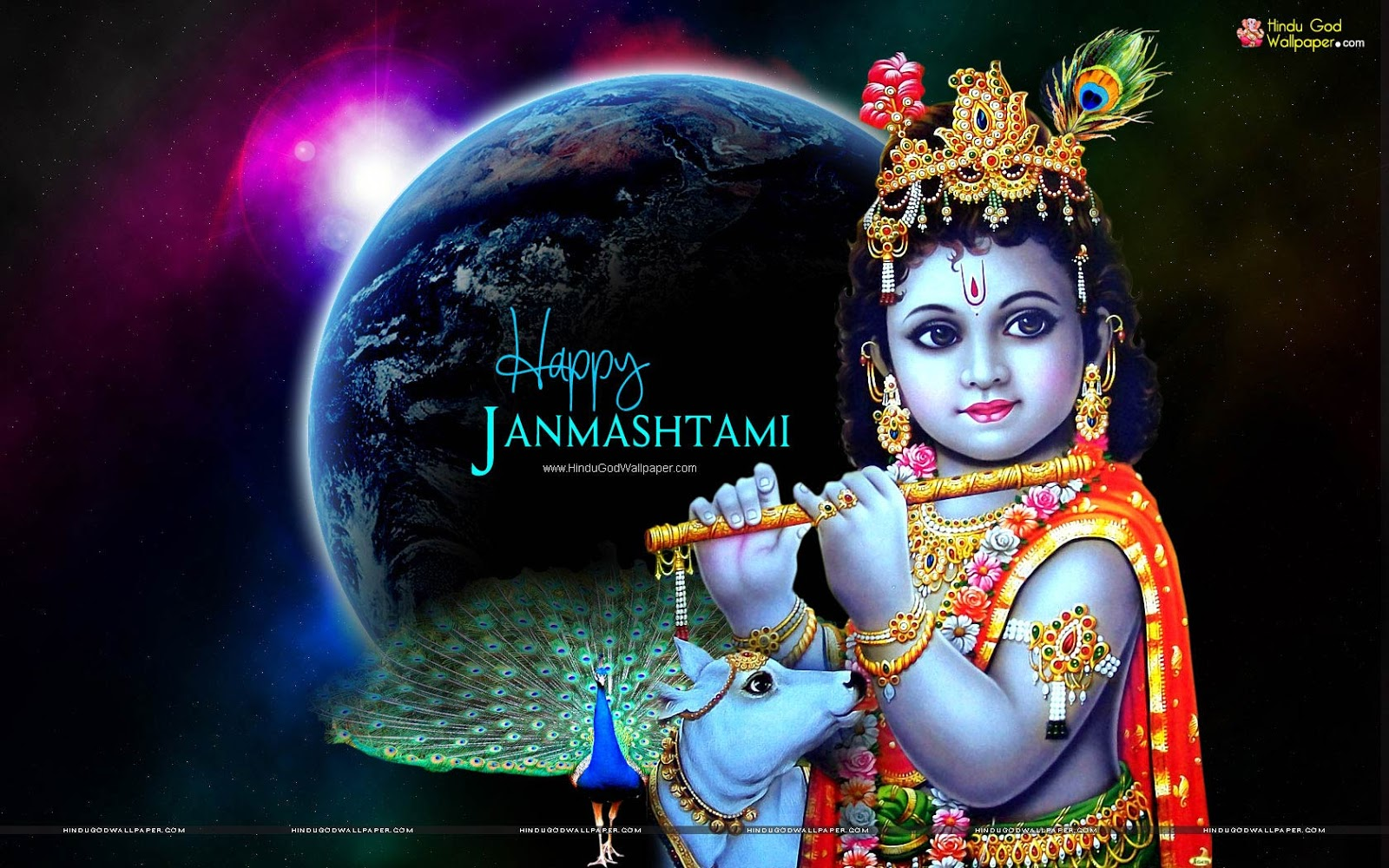 Best Happy Krishna Janmashtami Wallpapers Free Download