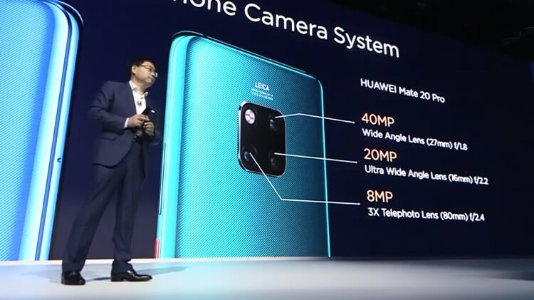 Huawei Launches Mate 20 Pro with In-Screen Fingerprint Recognition and Reverse Wireless Charging