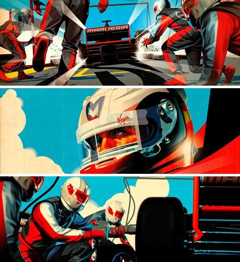 William Cookson - Graphic Design - Race Car