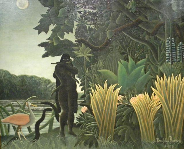 Henri Rousseau, olej na płótnie. Paryż