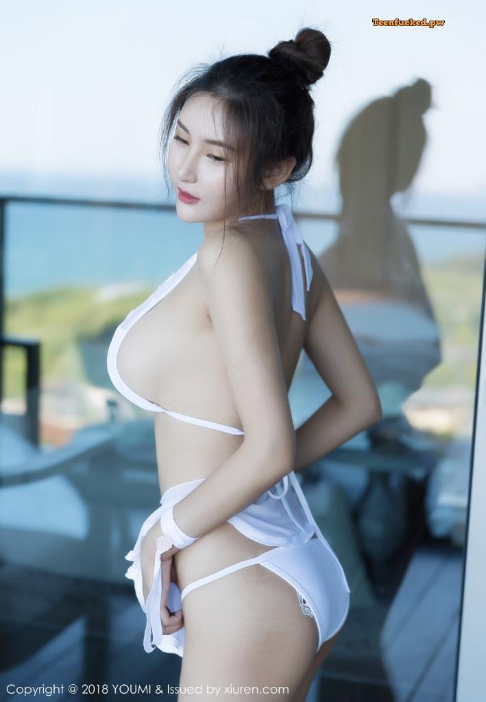 YouMi Vol.224 SOLO MrCong.com 040 wm - YouMi Vol.224: Người mẫu SOLO-尹菲