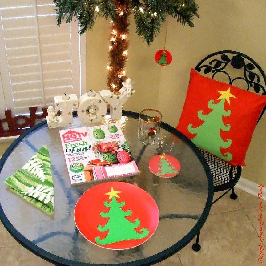 zazzlemade artsy christmas tree decor