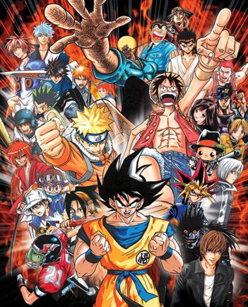 Wallpaper Shonen Jump : wallpaper, shonen, Anime, Shounen, Iphone, Wallpaper