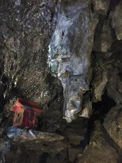 日原鍾乳洞写真