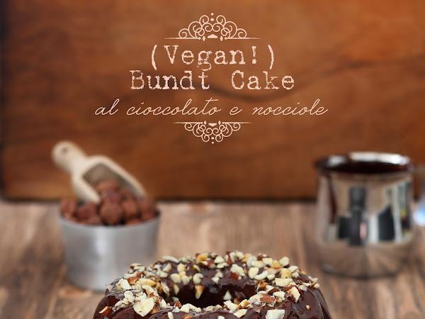 Bundt Cake vegana al cioccolato e nocciole