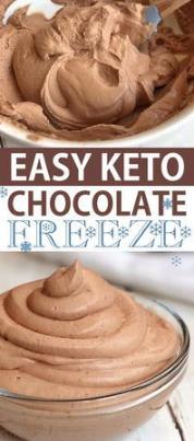 Easy Keto Chocolate Frosty