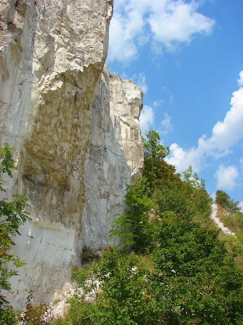 Меловая скала: Балаклейский район, село Чепель
