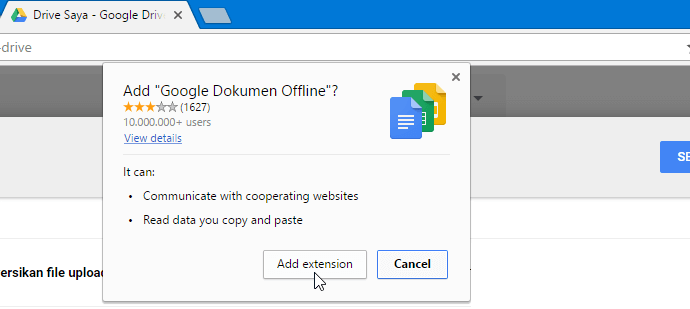 how to make a google doc offline