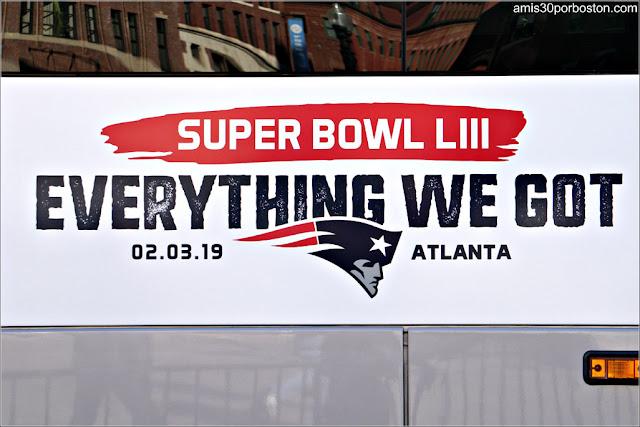 """Eslogan de los Patriots para la Super Bowl LIII: """"Everything We Got"""""""
