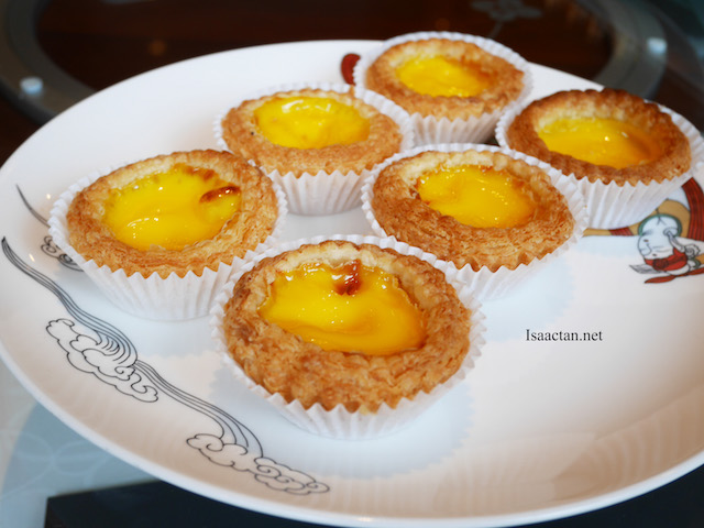 Delicious egg tarts