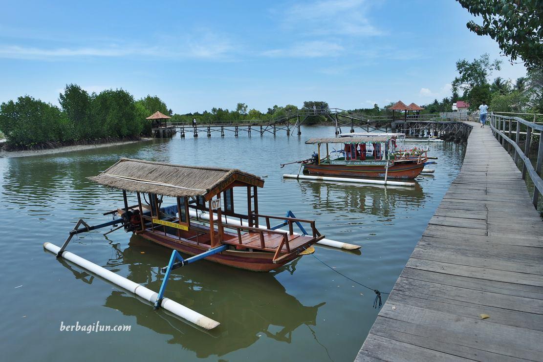 Menyusuri Jembatan Kayu Hutan Mangrove Lombok Jalan Jalan