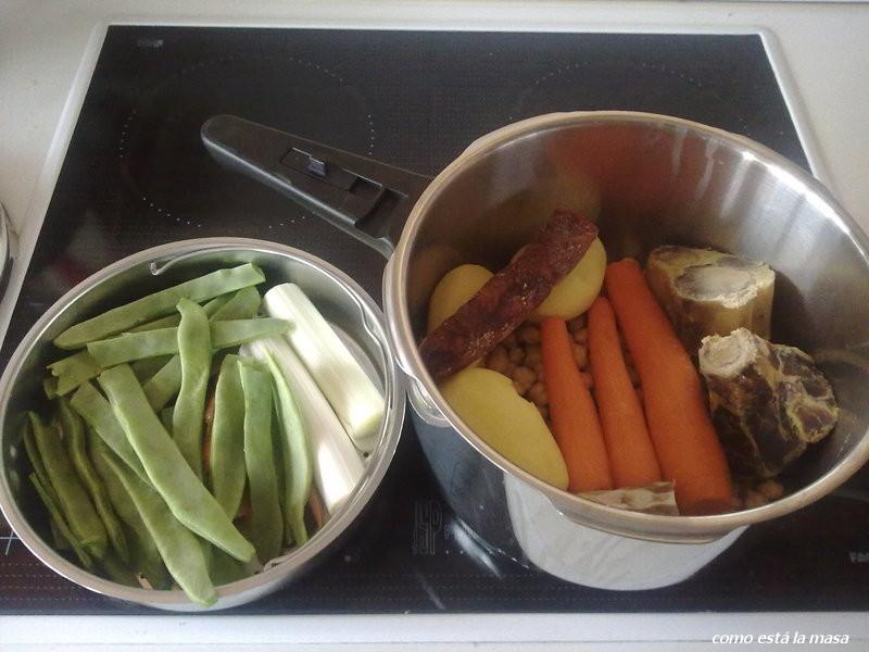 Como est la masa cocido madrile o en la olla expres - Cocido en la olla express ...