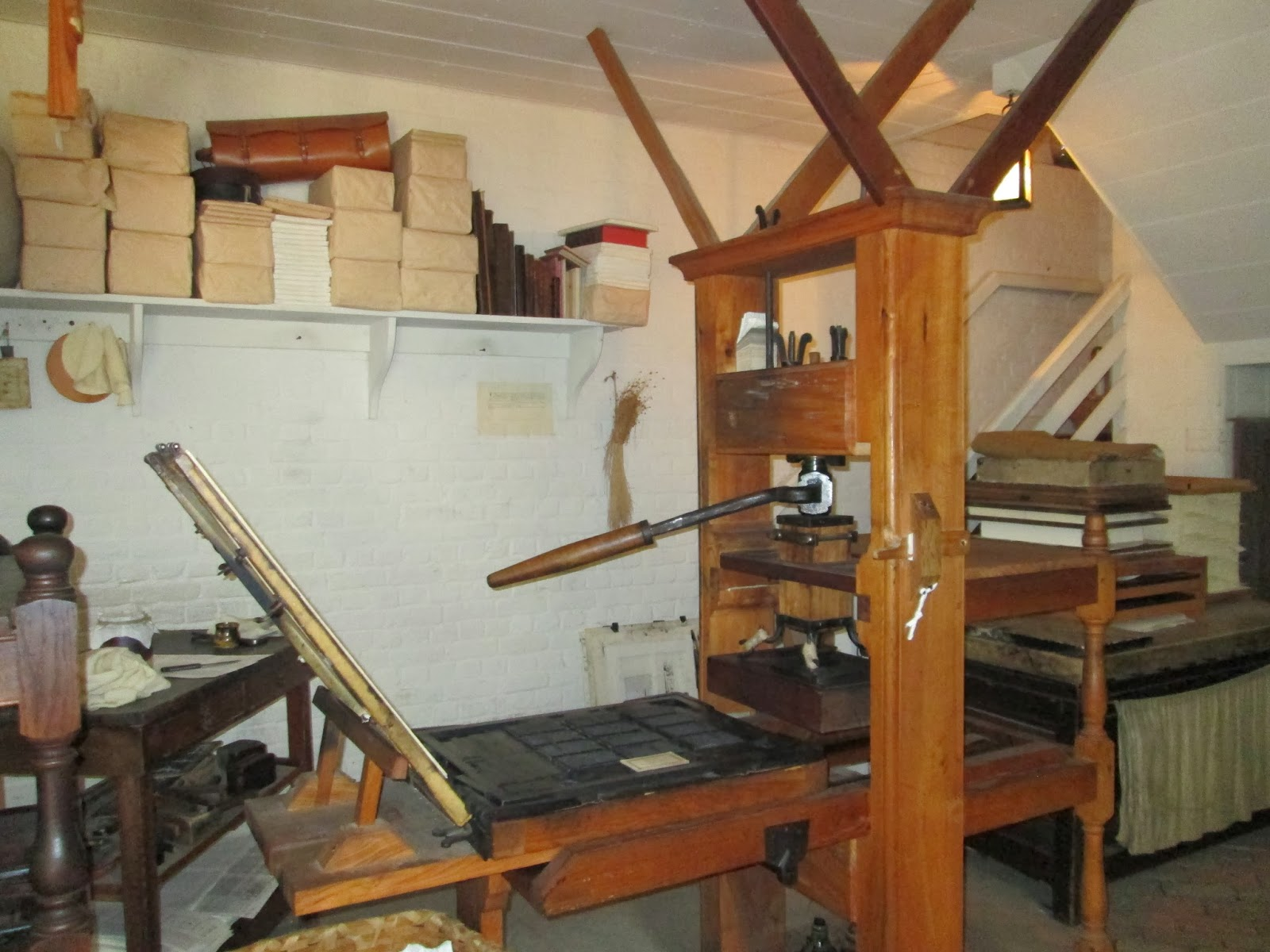 Colonial Quills The 18th Century Printing Press By Amber