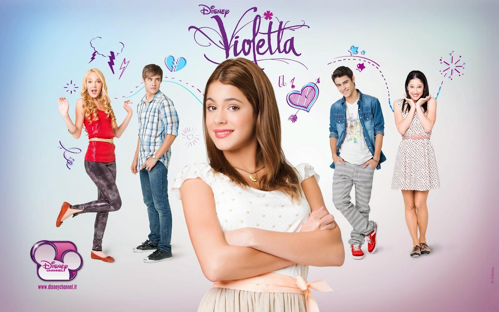 Lembrancinhas Violetta Disney