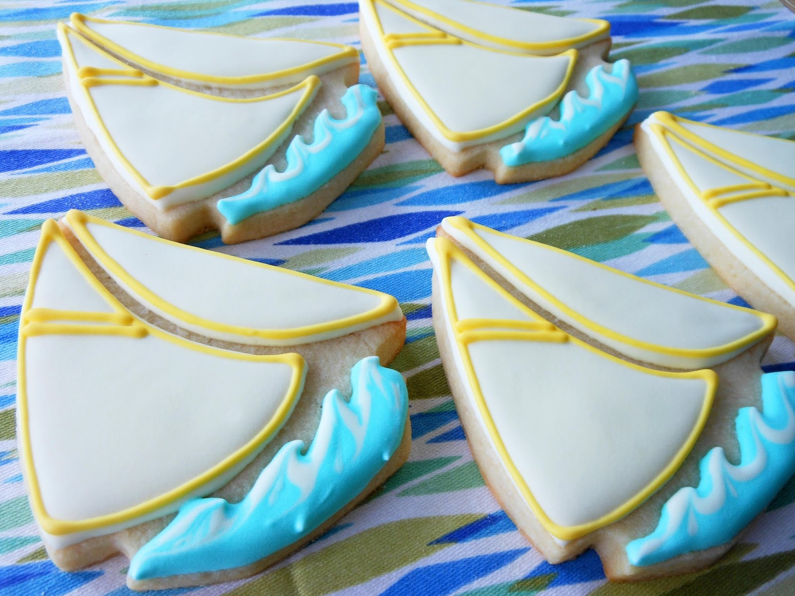 My Cookie Clinic Sailboat Cookies Sail On