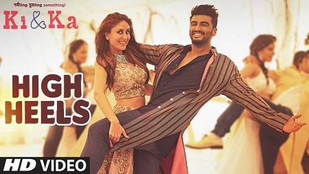 HIGH HEELS New Hindi Video Song 2016 KI & KA Arjun Kapoor and Kareena Kapoor with Honey Singh Meet Bros
