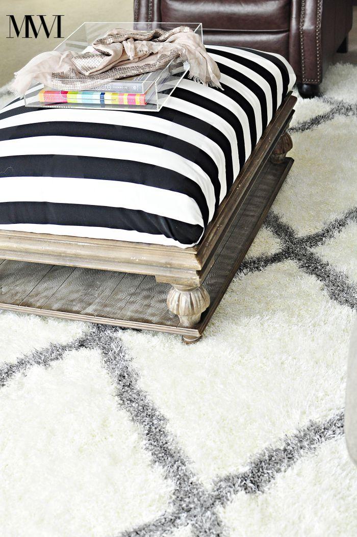 moroccan diamond shag rug