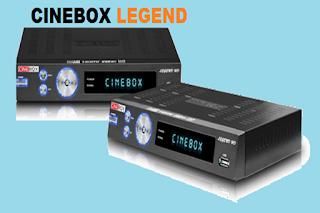 Resultado de imagem para CINEBOX LEGEND DUO ( HD )