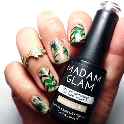 Macadamia Nuts Nail Art