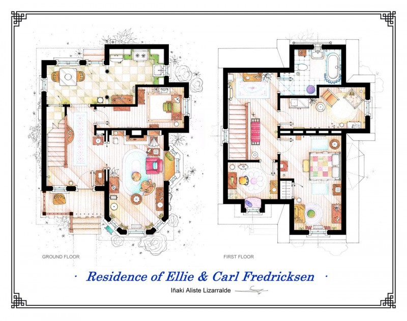 Planos de la casa de up la pelicula planos de casas - Plano de la casa ...