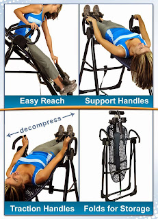 Teeter Hang Ups EP-950 Inversion Therapy Table, picture, image, review features and specifications